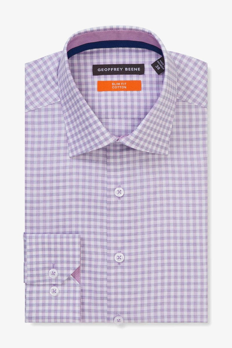Geoffrey Beene | Business Shirt Lilac 38