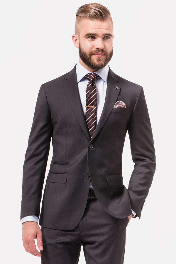 GIBSON | BETA SUIT JACKET Charcoal 88 R