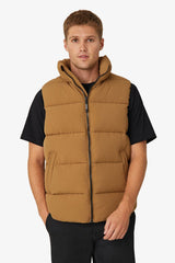 INDUSTRIE | Hanam Puffer Vest Leather S