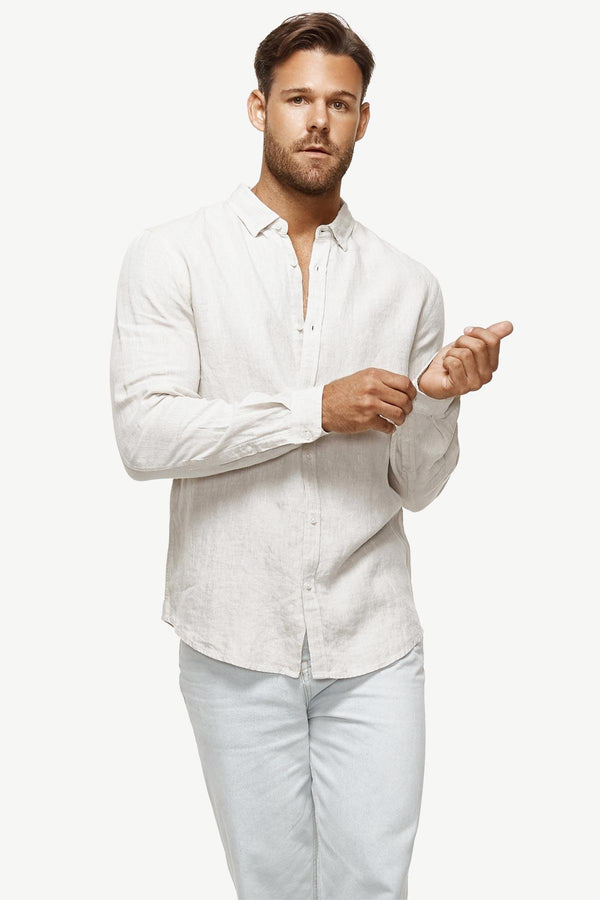 Industrie | The Tennyson Shirt Oatmeal S