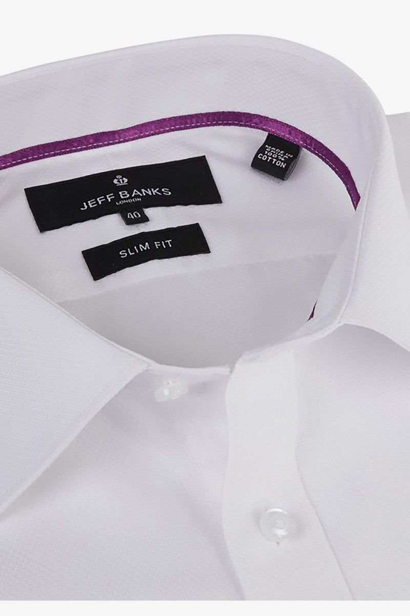 JEFF BANKS | Devon Dobby Business Shirt
