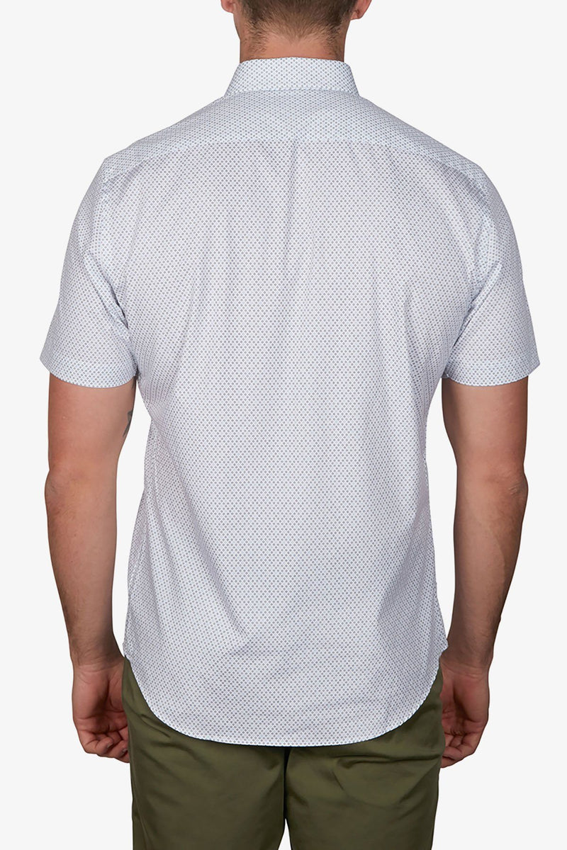 Jeff Banks | Diamond Dot Shirt