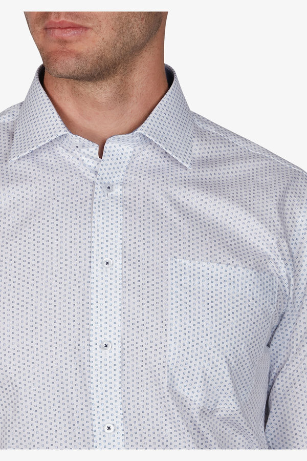 JEFF BANKS | Mini Bulls Eye Print Business Shirt