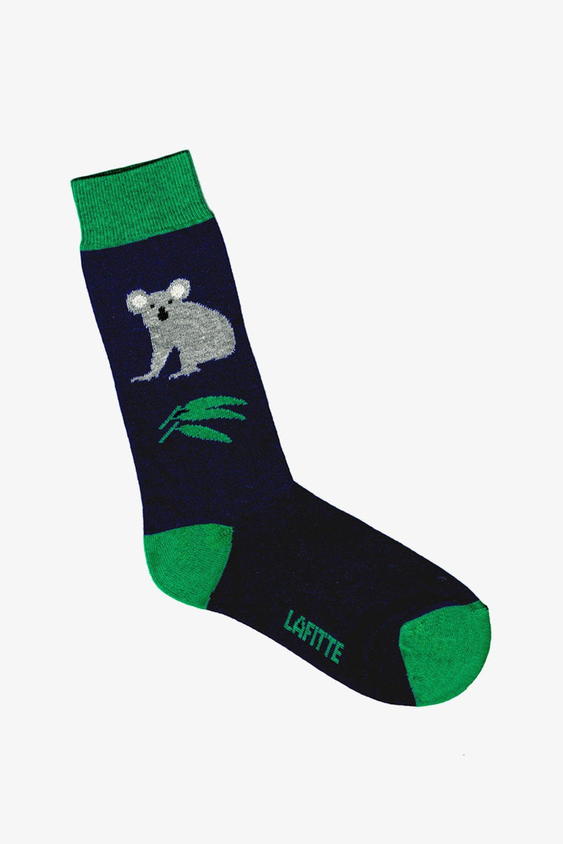 LAFITTE | Socks Australian Koala Navy Blue 11-14