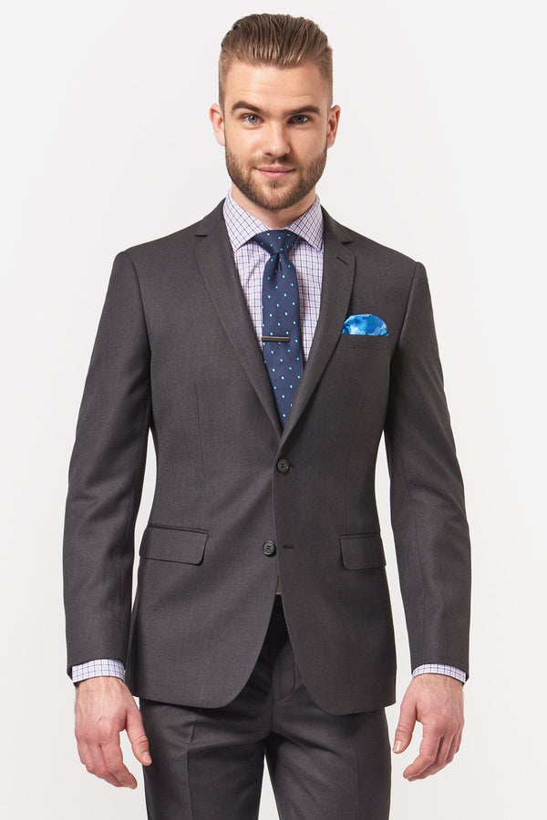 New England | Penn Suit Jacket Charcoal 84 R