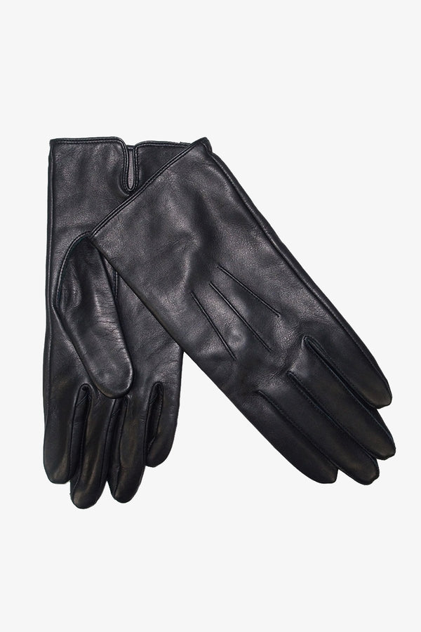 SOVRANO | Gloves Leather Black S