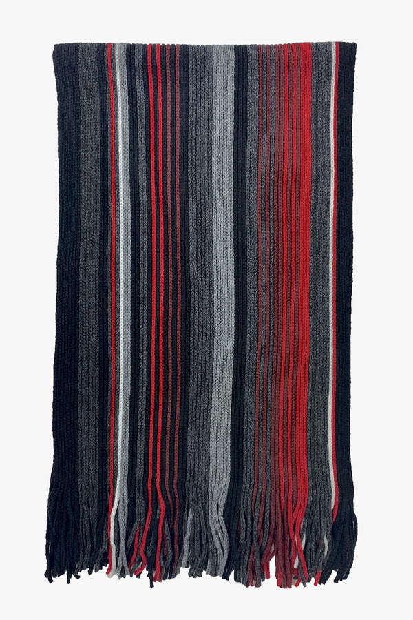 SOVRANO | Scarf Rochelle Stripe Red ALL