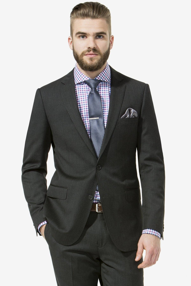Studio Italia | Icon Suit Charcoal 84 S