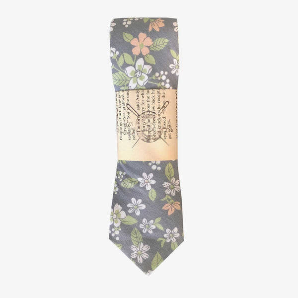 Sunny Apparel | Ashland Floral Cotton Tie Grey ALL