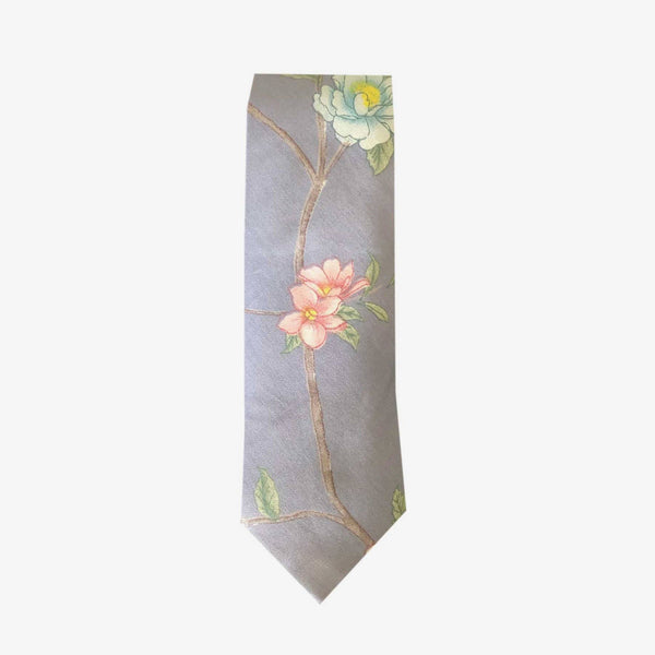 Sunny Apparel | Avon Floral Cotton Tie Grey ALL