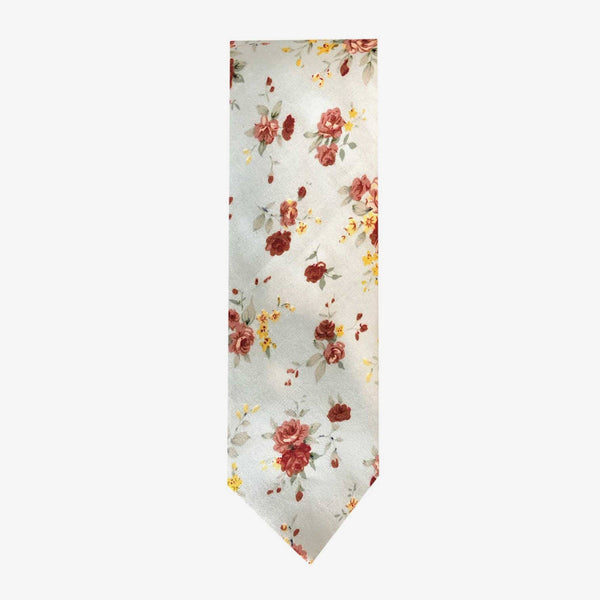 Sunny Apparel | Beckly Floral Cotton Tie Aqua ALL