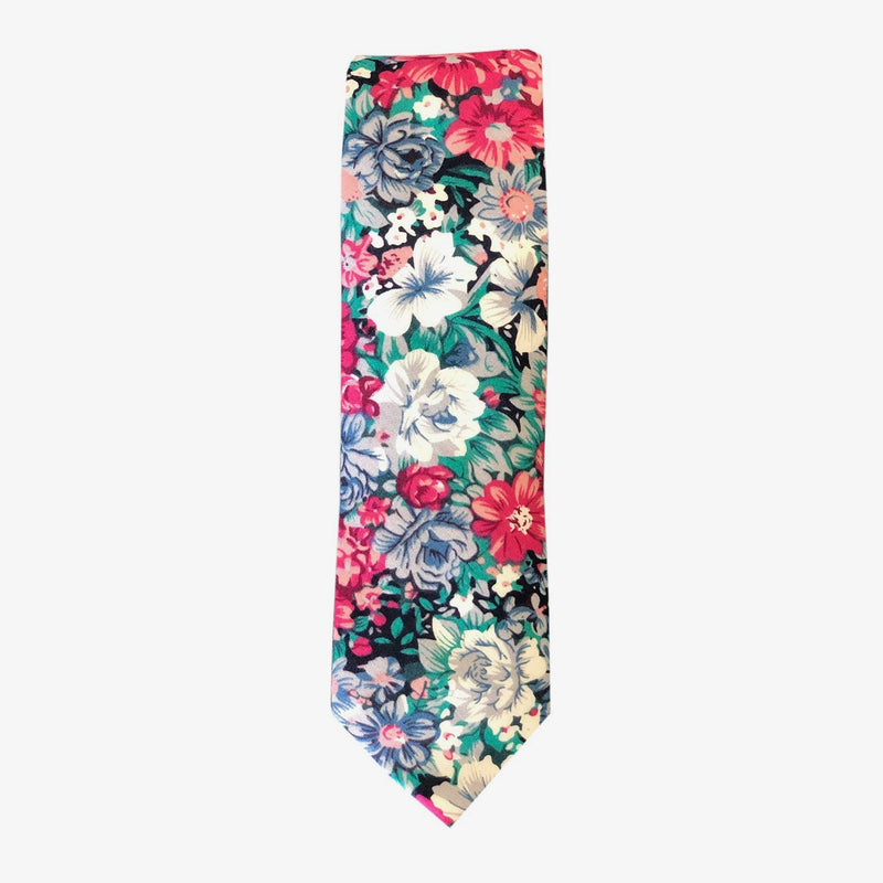 Sunny Apparel | Brome Floral Cotton Tie Green ALL