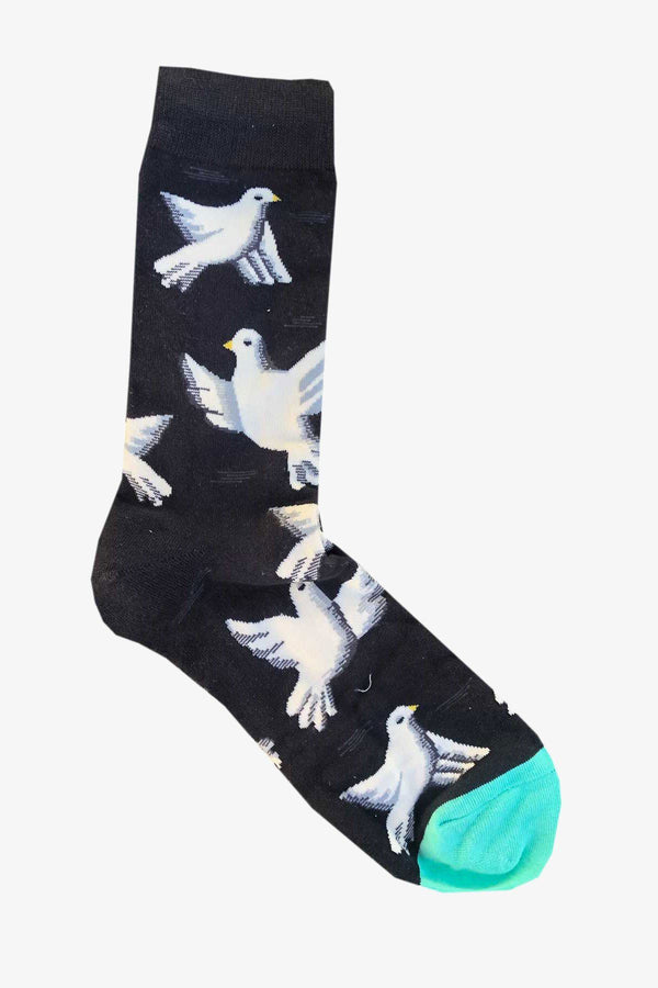 SUNNY APPAREL | DOVE SOCKS Charcoal ALL