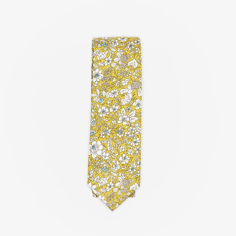 Sunny Apparel | Franklin Floral Cotton Tie Green ALL