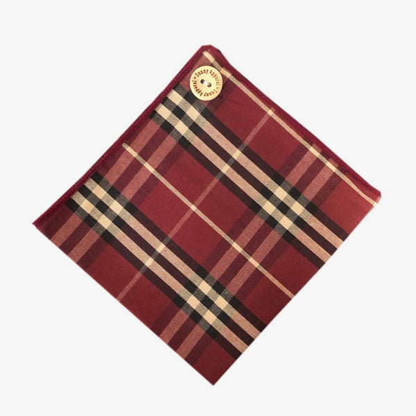 Sunny Apparel | Hagerstown Pocket Square Red ALL