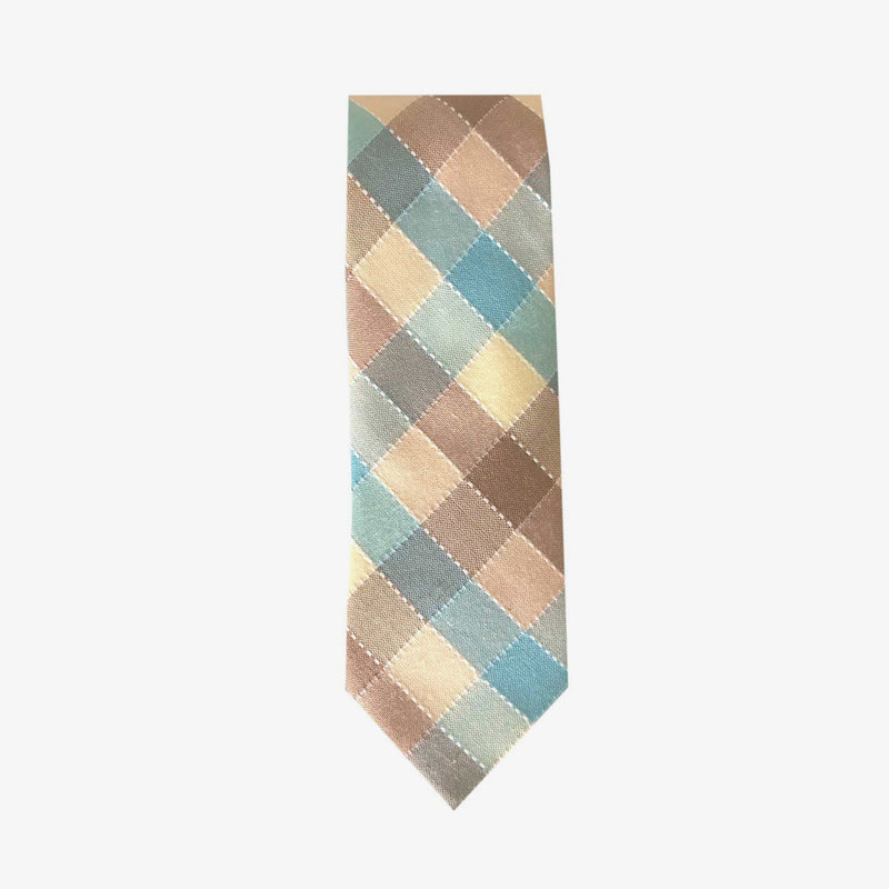 Sunny Apparel | Maitland Cotton Tie Aqua ALL