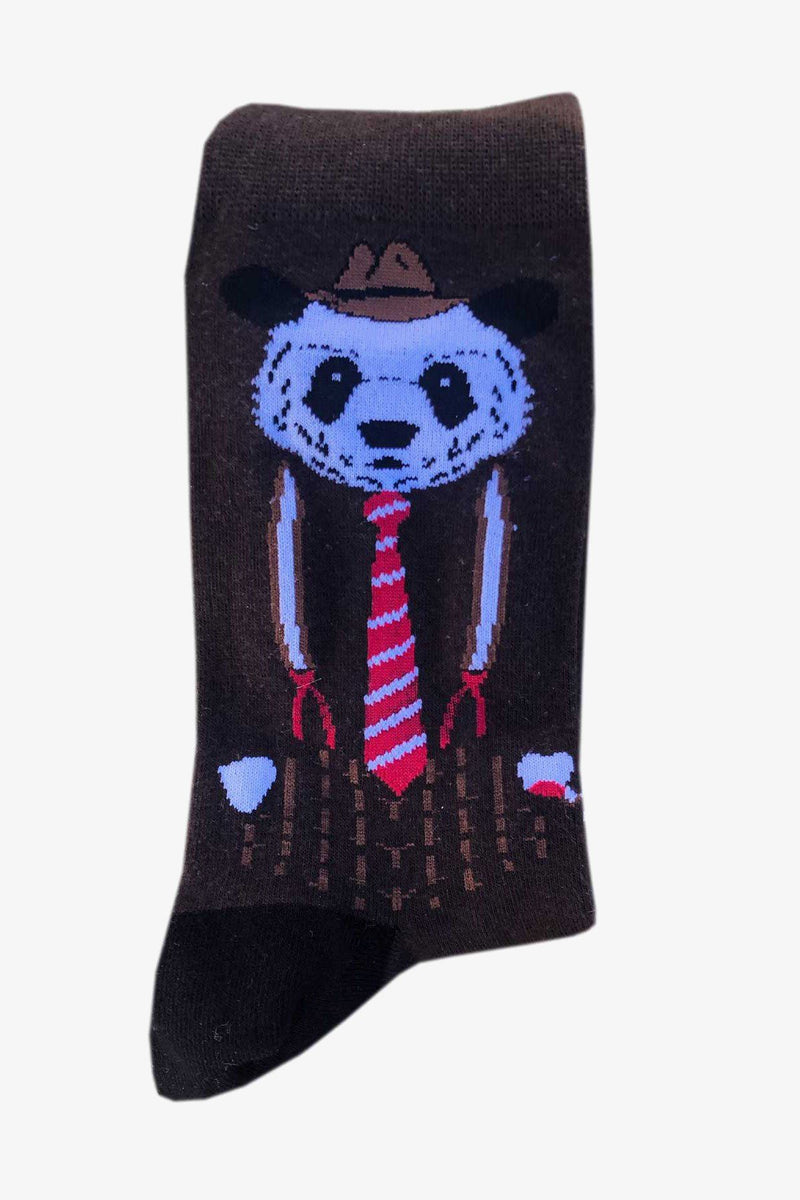 SUNNY APPAREL | NIGHT PANDA SOCKS