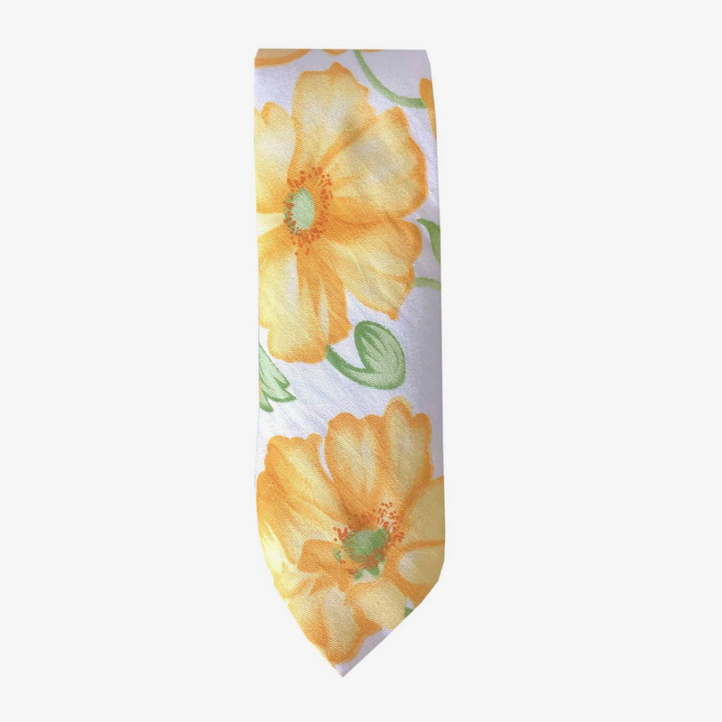 Sunny Apparel | Santa Clara Floral Cotton Tie Yellow ALL