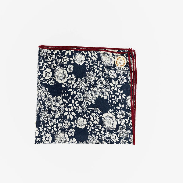 Sunny Apparel | Sparks Pocket Square Navy ALL