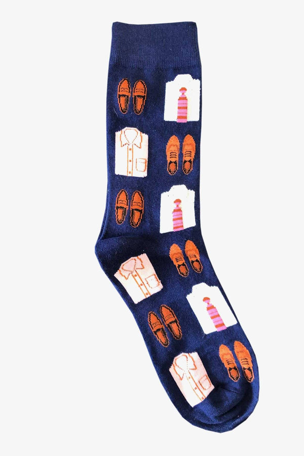 SUNNY APPAREL | SUITS YOU SOCKS Blue ALL