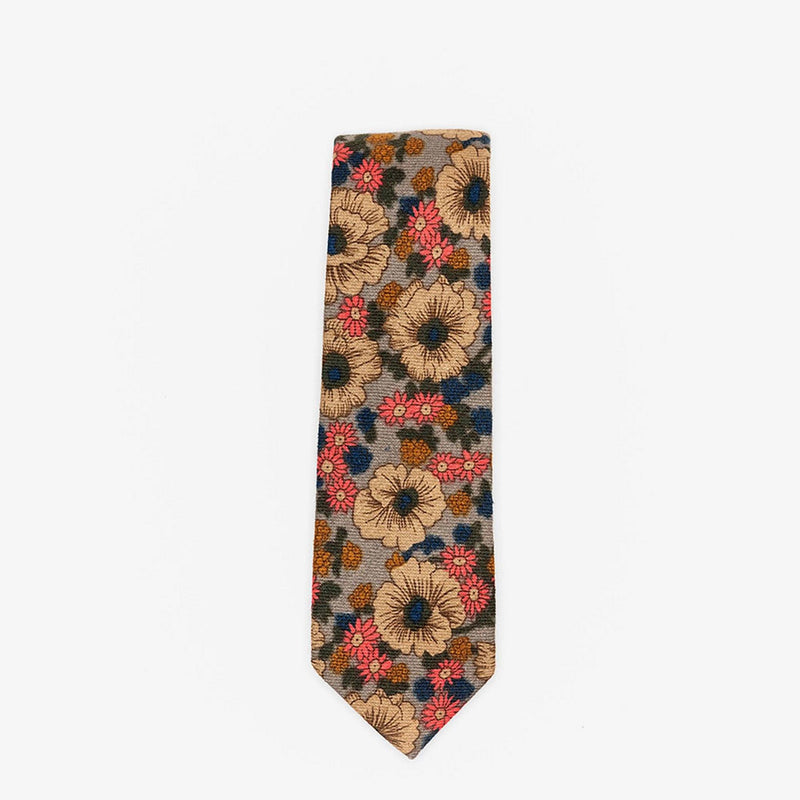 Sunny Apparel | Wolfsburg Floral Cotton Tie Grey ALL