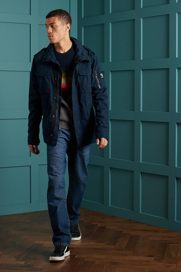 SUPERDRY | CLASSIC ROOKIE JACKET Squad Navy S