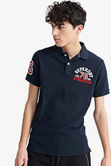 Superdry | Classic Superstate Polo Eclipse Navy S