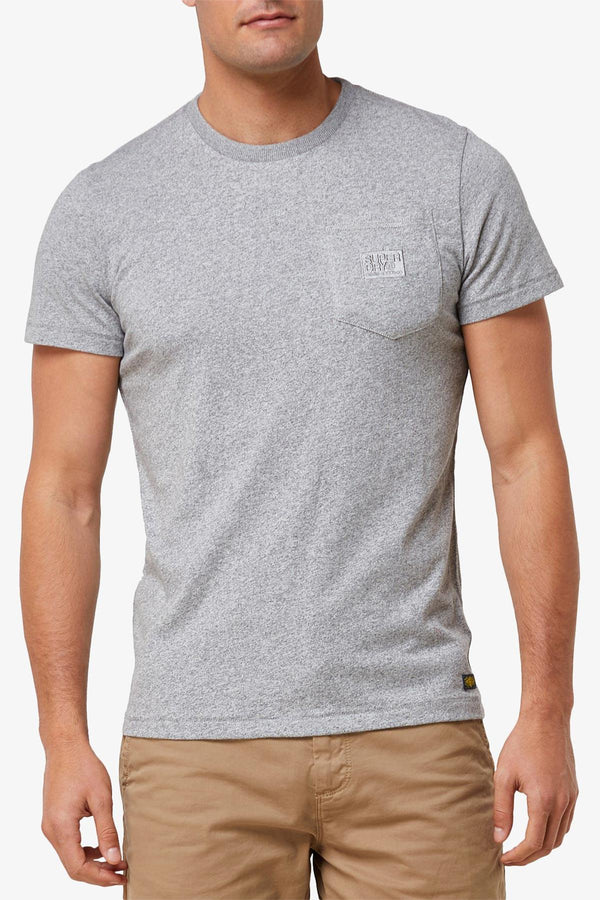 SUPERDRY | DENIM GOODS CO PKT TEE Grey S