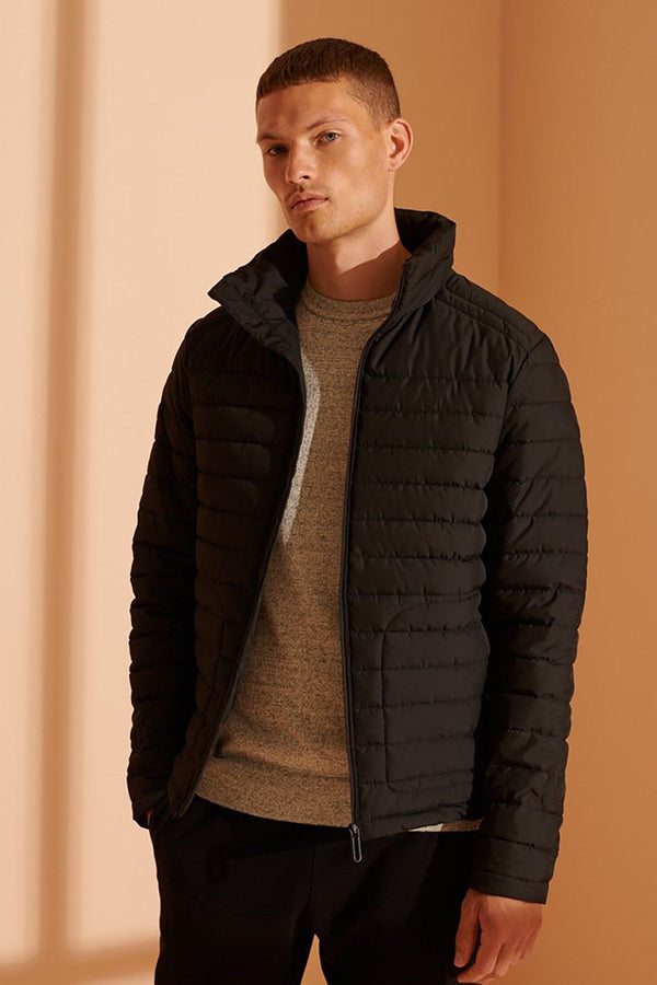 SUPERDRY | DOUBLE ZIP FUJI JACKET Black S