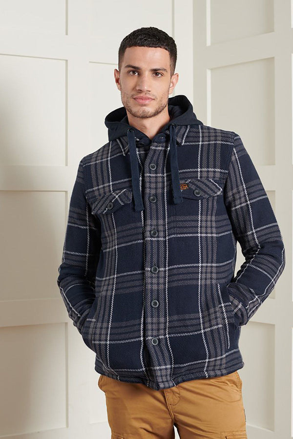 SUPERDRY | EXPEDITION HOODIE Everest Navy Check S