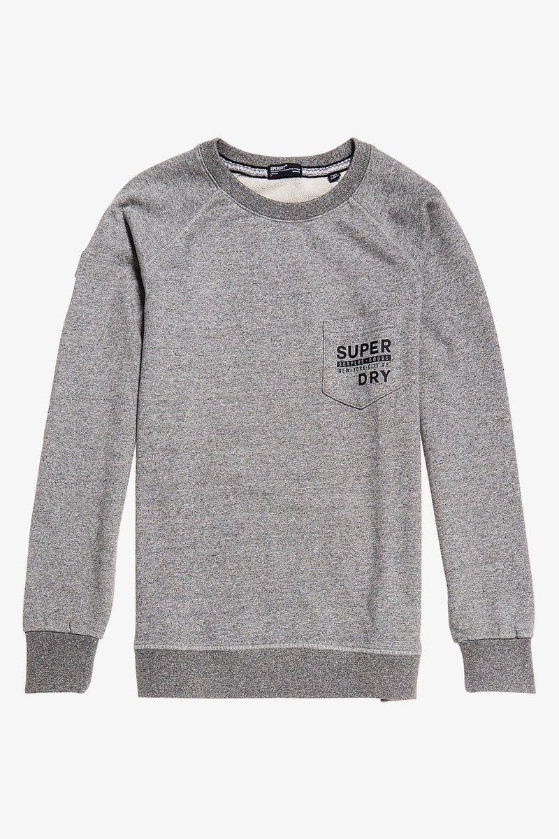 Superdry | Surplus Goods Graphic Crew Grit Grey S