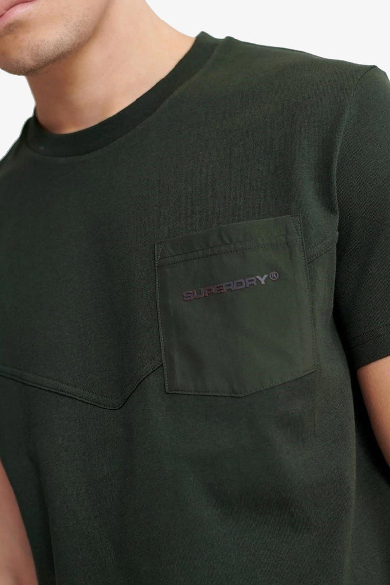 SUPERDRY| URBAN TECH NYLON PKT TEE
