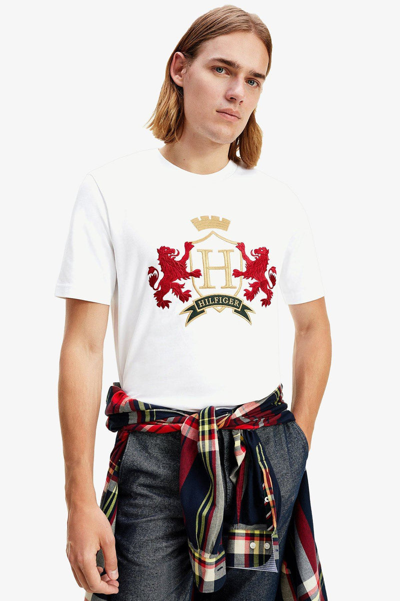 Tommy Hilfiger | Icon Family Crest Tee White S