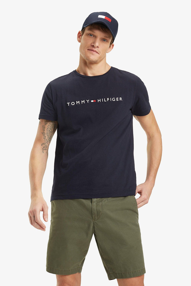 Tommy Hilfiger | Logo Tee Navy XS