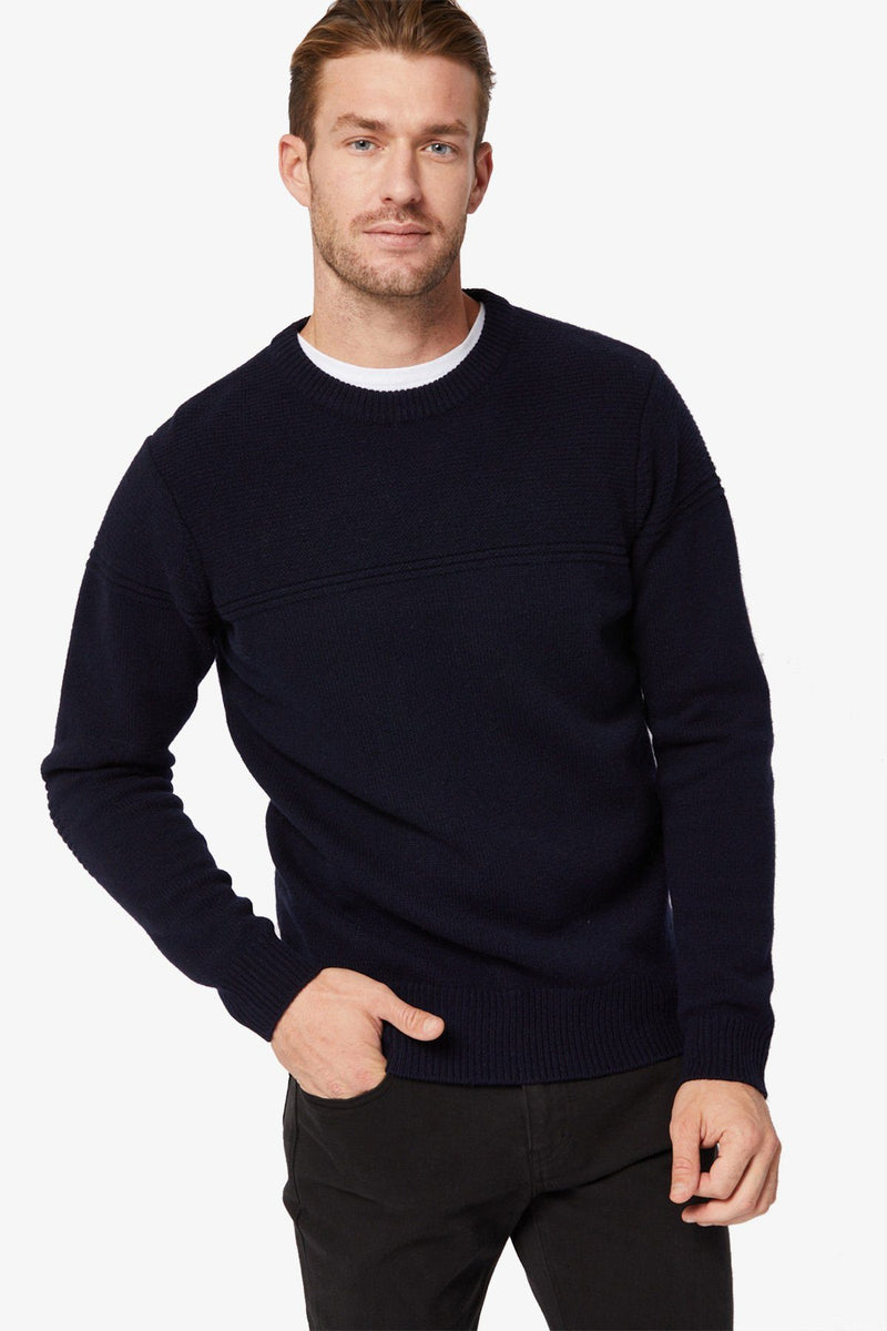 TOORALLIE | VERMONT CREW KNIT Midnight S