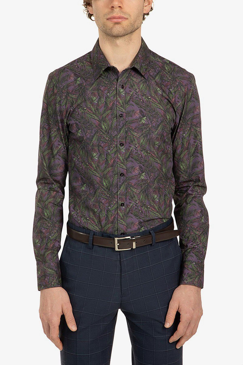 Uberstone | Kemba Shirt Purple S
