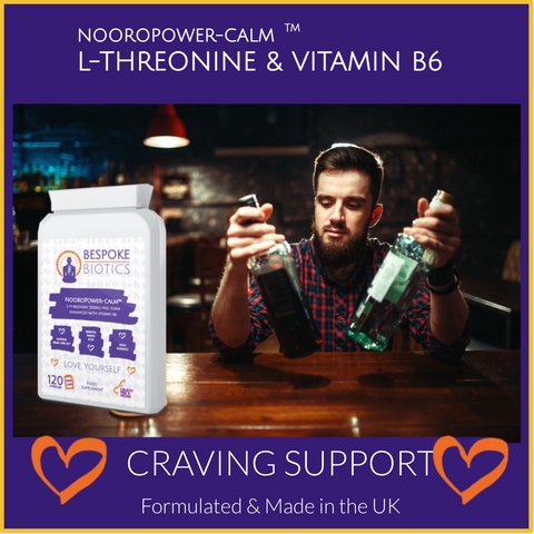 Essential amino acid and l threonine well combined with vitamin B6 can support people trying to give up alcohol because of the nutrients it provides stops the cold turkey