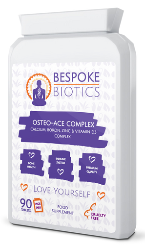 Osteo-Ace Daily Calcium, Boron, Zinc & Vitamin D3, Bone & Teeth Remineralisation