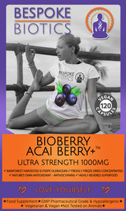 Acai Berry+ ULTRA strength 1000mg Freeze Dried Acai Berry Weight Detox 120 Caps