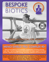 Load image into Gallery viewer, Meno-Shield PRO 45+ Bone & Hormone Support Vitamin D, Zinc Calcium 60 Capsules