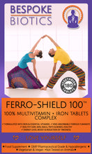 Load image into Gallery viewer, Limited Time Offer - Ferro-Shield Pro Multivitamin With Iron,C, B, A & D Immune Support 180 Tablets. One-a-day