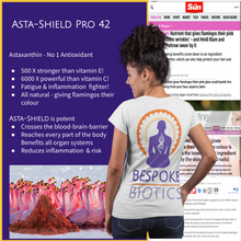 Carregar imagem no visualizador da galeria, ASTA-SHIELD PRO-Astaxanthin 42mg AstaPure® Oil Natural Astaxanthin 60/120 Soft Gel Capsules High Grade