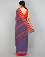 Narayanapet Cotton Saree - Lavender