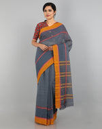 Narayanapet Cotton Saree - Grey