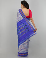 Pochampally Silk Saree - Grey