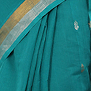 Venkatagiri Cotton with Butis - Teal