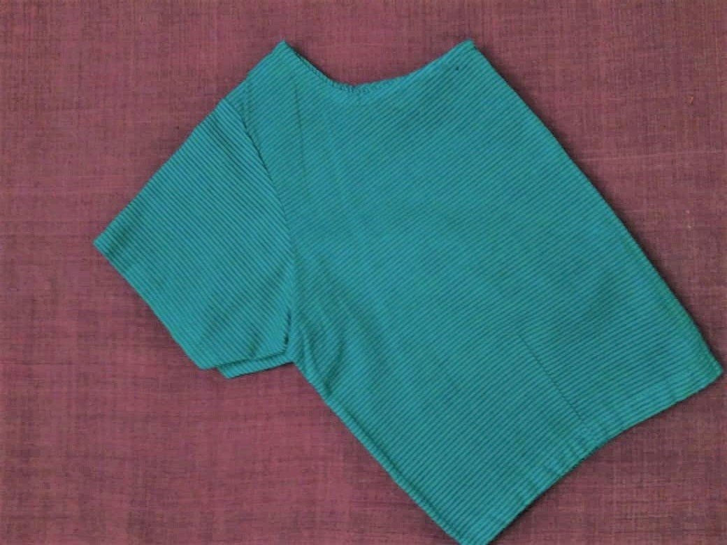 Blouse - Cotton - Green