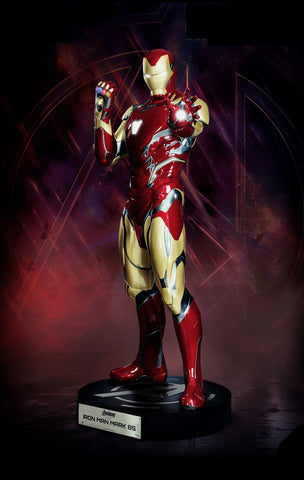 Avengers: Endgame - Iron Man MK 85 Lifesize statue (includes Nano glove)