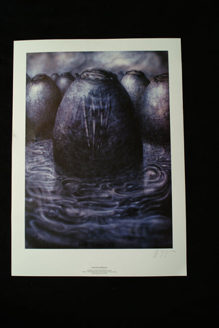 "H.R. Giger ""Alien Egg"": hand-signed Lithograph"