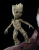 "GUARDIANS OF THE GALAXY, VOL 2: ""STARLORD & BABY GROOT"" LIFE-SIZE STATUE"